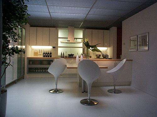 Gietvloer keuken design - Faience giet keuken moderne ...